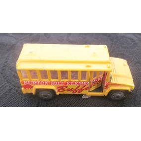 Ônibus Escolar De Coleção Mattel Buffalos Miniatura 75mm