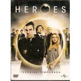 Box 6 Dvd Heroes - Terceira Temporada - Novo***