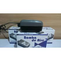 Bomba De Aire Doble Dos Salidas 200 Litros Peces Pecera