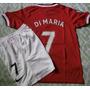 Conjuntos Futbol Niño Manchester United Si Maria Nuevos