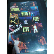 Fita Vhs Video Earth,wind & Fire Live Lacrada E Importada