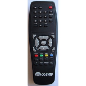 Control Remoto Para Decodificador Digital De Cable Coship