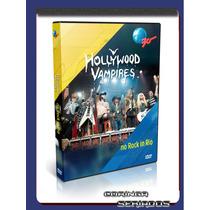 Dvd Show Hollywood Vampires Ao Vivo Hd Rock In Rio 2015