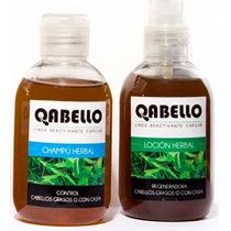 Qabello Loción Y Champú Herbal Trat. Anticaspa Y Seborrea