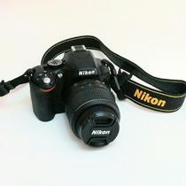 Camara Nikon D5100 3102 Disp. Lente Bolso Y Kit De Limpieza