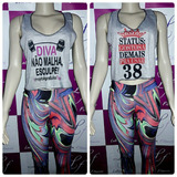 Camisetas Regatas Cropped Fitness Malhar Verão Ginastica