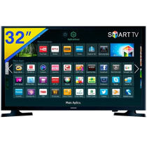 Smart Tv Samsung Led 32´ , 2 Hdmi, Usb, Wi-fi - Un32j4300