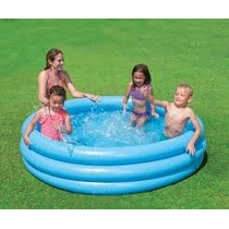 2 Albercas Inflables Piscinas P/niños 165cmx30cm Play Day Tm