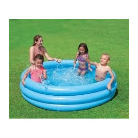 Alberca Inflable Piscina Niños 3 Aros 165cmx30cm Play Day Tm