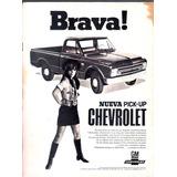 Antigua Publicidad Chevrolet Pick Up Brava