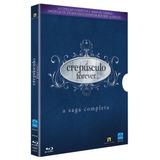 Blu -ray Saga Crepúsculo - Coleção Completa - 6 Discos