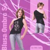 Do Dance Brasil - Blusa Suplex Com Estampas De Dança.