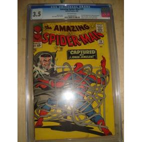 Spider-man 25 - Homem Aranha 1ª Aparição M.jane - 65 Cgc 3.5