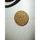 Lote De Dos Monedas Chile 20c Año 1923 Y Sol De Oro Peru