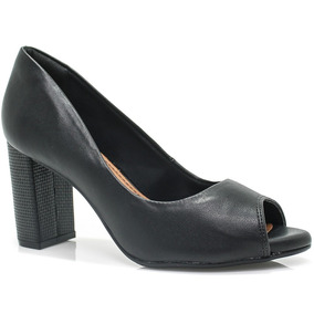 Sapato Ramarim Peep Toe Total Comfort | Zariff
