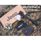 Hacha Jeep Original Todo Terreno Funda De Tela Y Plastica