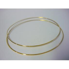 1159 - Bracelete Fio De Ouro 10k 1 Pulseira Argola