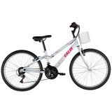 Bicicleta Ceci 21 Marchas Aro 24 Branca - Caloi