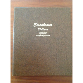 Álbum De Moedas Americanas Presidente Eisenhower-único No Ml