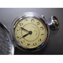 Reloj Bolsillo Tipo Roskopf Antiguo 3 Tapas Funcion Regalo