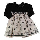 Vestido Infantil Borboletas E Fuxicos - Cleusinha