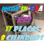 Kit Celda Seca 8 Cil 17 Placas Hho Hidrogeno Meses Sin/int