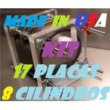 Kit Celda Seca 8 Cil 17 Placas Hho Hidrogeno