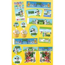 Kit Imprimible Doki Personalizado 30 Etiquetas