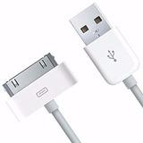 Cabo Usb Iphone Dados E Carregador Ipad Ipod 3g 3gs 4g 4s