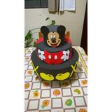 Bolo Infantil Cenografico Fake - Mickey