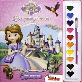 Livro Coleção Aquarela Disney - Princesa Sofia