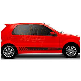 Adesivo Fiat Palio Fire Siena W. Kit Faixa Lateral Acessório