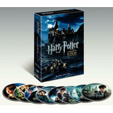 Harry Potter: Las 8 Películas En Dvd, Pack Imperdible!