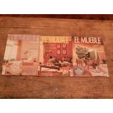 Set De 4 Revistas Españolas De Decoración Y Diseño El Mueble