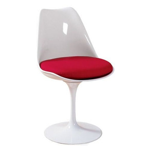 Cadeira Saarinen Sem Braço De Fibra De Vidro - 12x Sem Juros