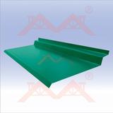 Zingueria Babeta Para Techo Chapa Color Verde 2.44mts Envios
