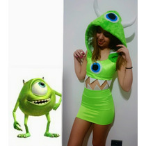 Disfraz De Mike Wazowski ( Monsters University)