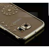 Samsung S7 Edge Funda Rígida Gold Diente De Leon