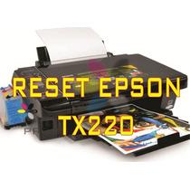 Reset Impressora Epson Tx220 + Frete Grátis