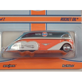 Hot Wheels Gulf Rocket Oil # 3038/4500 No Se Vende En Tienda