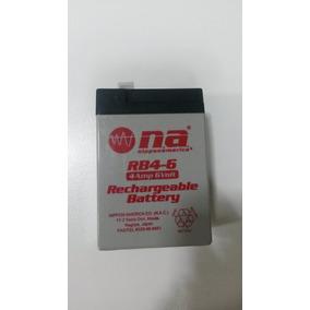 Bateria Recargable 6v 4ah Nippon America
