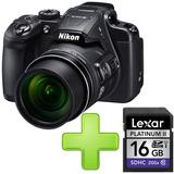 Cámara Nikon Coolpix B700 + Memoria Lexar De 16gb Class 10