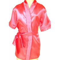 Robe Infantil Em Cetim - Super Promoção
