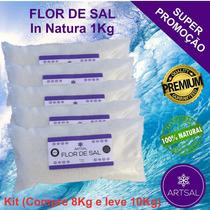 Flor De Sal Artsal (kit - Pague 8kg E Leve 10kg)