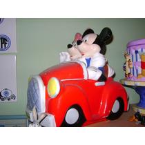Galletitero Disney Mickey Car Cookie Jar