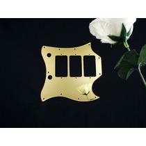 Escudo Gibson Sg Custom H-h-h Espelho Dourado