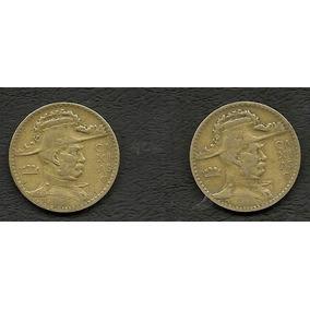 Moeda De 2000 Rs- Caxias - 1937 E 1938 - Ambas Serrilhadas