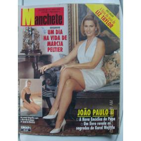 Revista Manchete 2244 Márcia Peltier Papa Sexo Liz Taylor