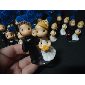 50 Lembrancinhas Casamento Noivado Biscuit Sem Porta Recados