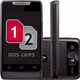 Motorola Razr D1 Xt918 Preto 2 Chips Tv Digital Android 4.1